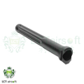 LCT Steel Gas Tube For AKM / AK-74 AEG Rifle (Black)