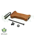 LCT Real Wood Front Grip For AMD-63 AEG Rifle