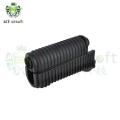 LCT Handguard Set w/ Gas Tube For AKS-74U AEG Rifle (Black)