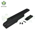 LCT Aluminum & Steel Dust Cover Rail For AK-47 / AK-74 AEG (BK)