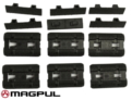 Magpul M-LOK Type 2 Rail Covers (6pcs, Black)