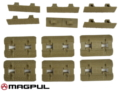 Magpul M-LOK Type 2 Rail Covers (6pcs, DE)