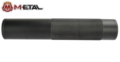 M-ETAL NATO 5.56 14mm CW / CCW Metal Silencer (Black)