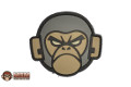 "MSM PVC ""MSM MONKEY"" Velcro Patch (ACU Dark)"