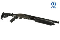 PPS M870 Gas Shell Eject Pump Action Shotgun (AR Folding Stock)
