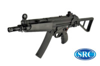 SRC SR5-AU MP5 CO2 SMG Rifle (Black)