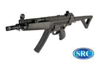 SRC MP5 SR5-AF CO2 SMG Rifle (Black)