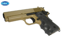 "SRC ""Commando"" M1911 Compact GBB Pistol (Dark Earth)"