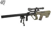 Snow Wolf Steyr AUG A2 PHANTOM AEG Bullpup DMR Rifle (OD)