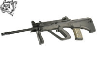 Snow Wolf Steyr AUG A2 XS Type Top Rail AEG Bullpup Rifle (BK)