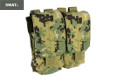 SWAT CORDURA Double Stack Double 556 Magazine Pouch (AOR2)
