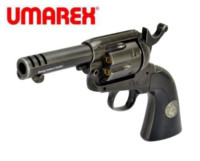 Umarex SAA Legends ACE Weathered Version 6mm CO2 Revolver(Black)