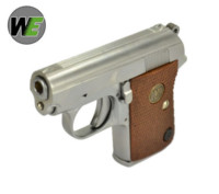 WE Junior .25 Mighty Mouse GBB Pistol (Silver)