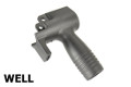 WELL Vertical Front Grip For MP5K GBB SMG (Black)