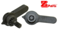 ZParts Systema 416/M4 AEG Steel Ambi Selector (Black)
