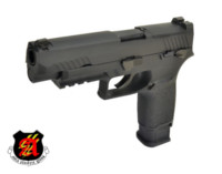 ASIA Electric Guns Alloy Slide F17 GBB Pistol (Black)