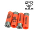 APS CAM MKI and MKIII Shotgun XPower 4Pcs CAM ShotShell (Orange)