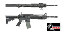 ARES X-Class M4 SIR MIDDLE AEG Rifle (Black)