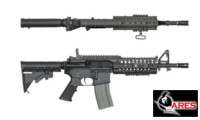 ARES X-Class M4 SIR SHORT AEG Rifle (Black)
