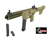 ARES M4 M45 S CLASS-L Pistol AEG (Dark Earth , two magazine)