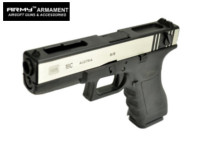 ARMY G18C Full-Auto GBB Pistol (2-Tone , Marking Version)