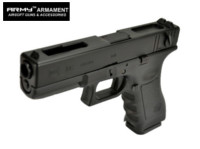 ARMY G18C Full-Auto GBB Pistol (Black , Marking Version)