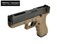 ARMY G18C Full-Auto GBB Pistol (Dark Earth , No Marking Version)