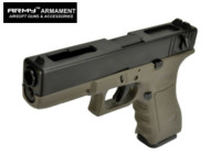 ARMY G18C Full-Auto GBB Pistol (Oilve Drab , No Marking Version)