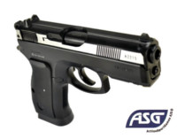 ASG CZ 75D Duty NBB 6mm BB Co2 Pistol (2-Tone)