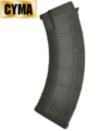 CYMA AK AEG 170rounds Mid-Cap Magazine NYLON VERSION (Black)
