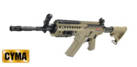CYMA M4 SIR System Assault Rifle AEG (Tan)