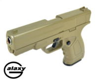 Galaxy Alloy G39D Spring gun Pistol (Dark Earth)