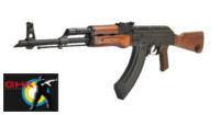 GHK GKM AKM Real Wood Handguard GBB Rifle (Black)