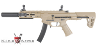 King Arms PDW 9mm AEG SBR SD (Dark Earth)