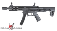 King Arms PDW 9mm SBR M-Lok (Black)