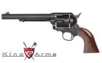 King Arms Full Metal SAA .45 Peacemaker Revolver M (Dull Black)