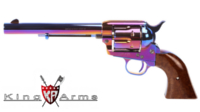 King Arms Full Metal SAA .45 Peacemaker Revolver M (Bluing)