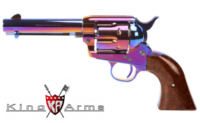 King Arms Full Metal SAA .45 Peacemaker Revolver S (Bluing)