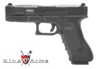 King Arms CNC Aluminium Custom II M1911 GBB Pistol (Black)