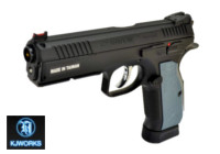 KJ Works CZ Shadow 2 CO2 6mm Pistol (ASG Licensed , Black)