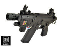 Specna Arms X-ASR Mosfet SA-E18 Edge M4 AEG (Black,two magazine)