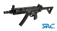 SRC SR5 TAC-AF MP5 CO2 SMG Rifle (Black)