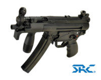 SRC SR5 KA4 MP5 CO2 SMG Rifle (Black)