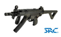 SRC SR5 PDW CO2 SMG Rifle (Black)