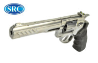 SRC Titan 6 Inch Barrel 6mm Swing Out CO2 Revolver (Silver)