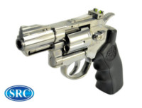 SRC Titan 2.5 Inch Barrel 6mm Swing Out CO2 Revolver (Silver)