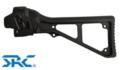 SRC SR5 MP5 U Type Side Folding Stock (Black)