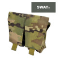 SWAT Molle Dual Mag Pouch for HK417 magazine (Multicam)
