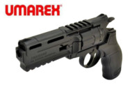 UMAREX UXA-H8R 6mm CO2 Revolver (Black)