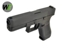 WE G17 Alloy Silde Gen5 GBB Pistol (Black)